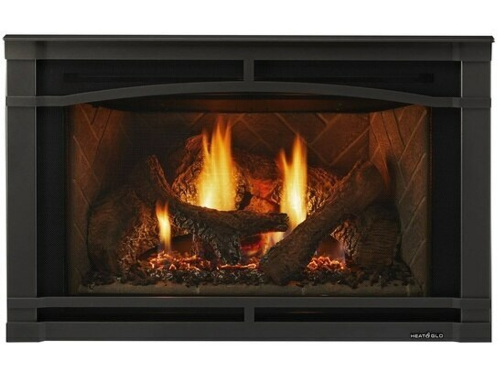 "Heat and Glo Supreme 35"" Gas Insert"