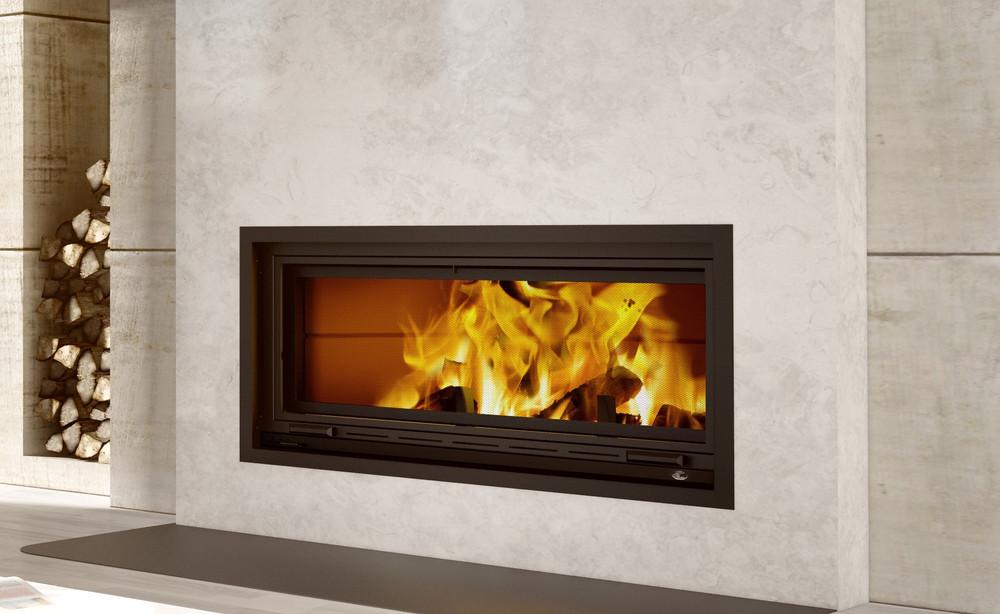Valcourt St. Laurent Linear Wood Fireplace