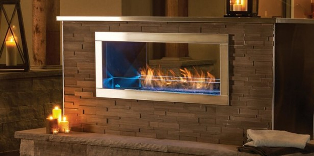 Napoleon Galaxy 48 See-Through Outdoor Gas Fireplace