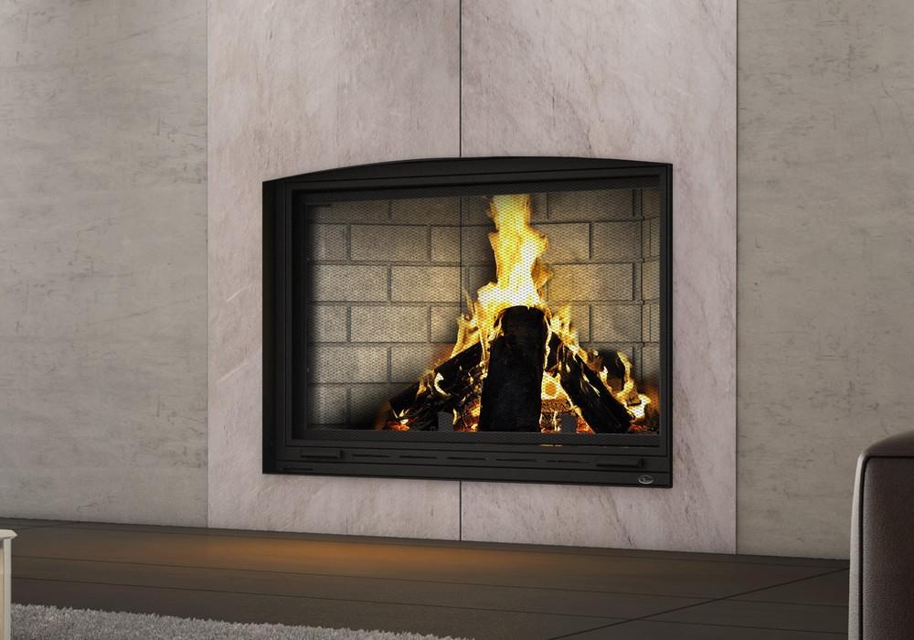 Valcourt Frontenac Wood Fireplace