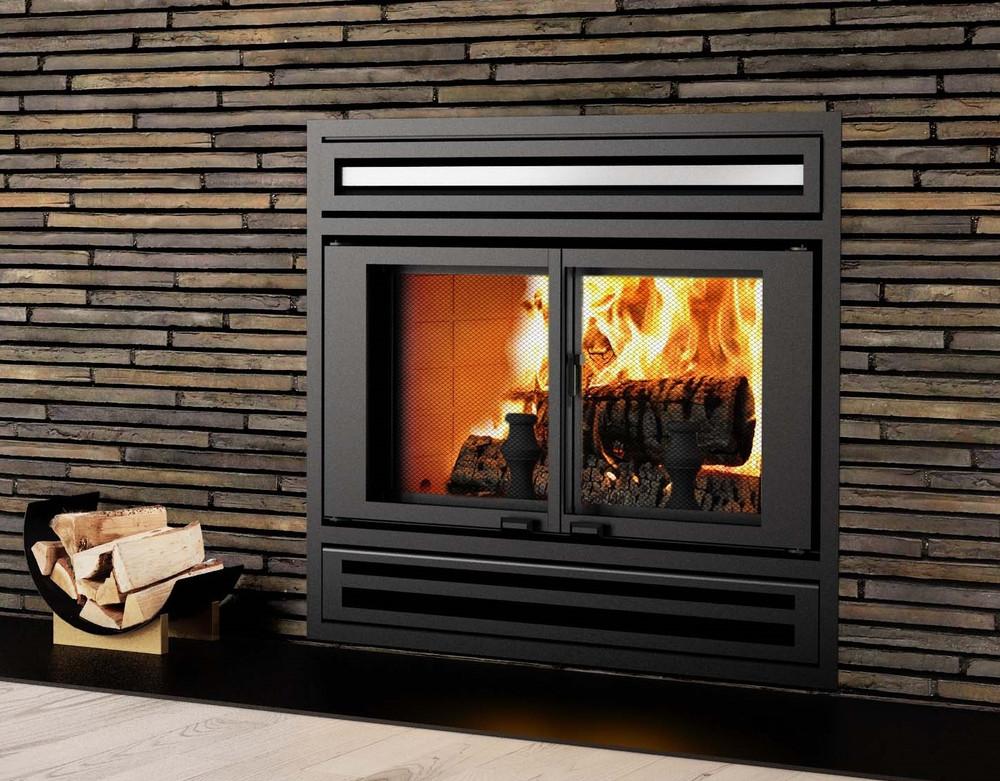 Valcourt Manoir Wood Fireplace