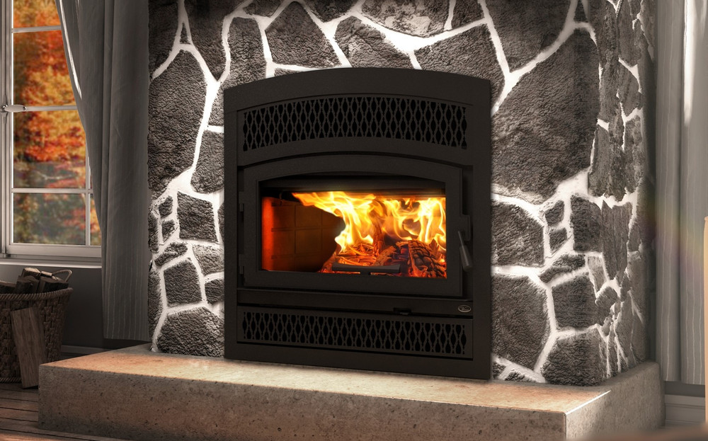 Valcourt Lafayette II Wood Fireplace