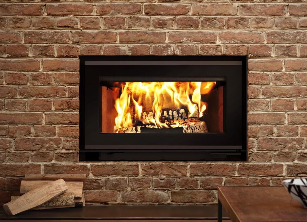 Valcourt Mundo II Wood Fireplace