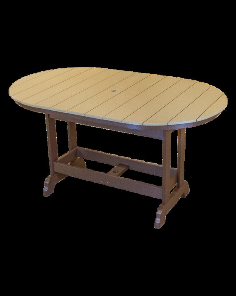 Kanyon Living  Bar Height 6' Oval Table