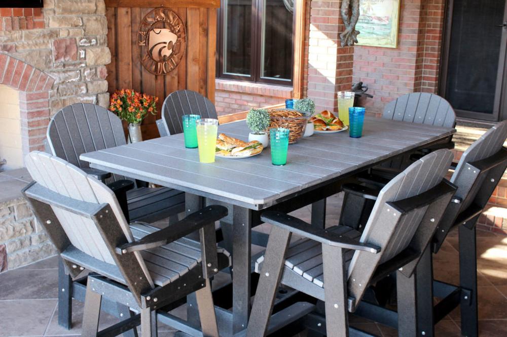 Kanyon Living Bar Height Rectangle/Oval Table Set