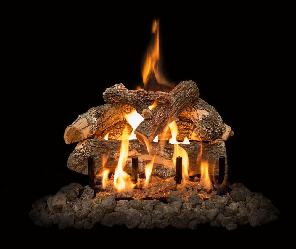 "Arizona Weathered Oak Log Set 18"""