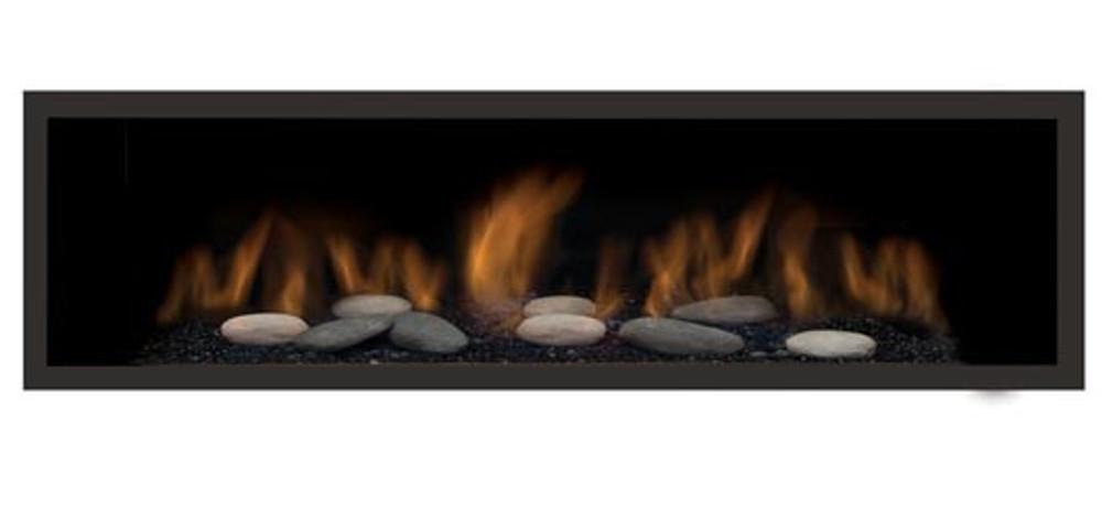 "Amantii Sierra Flame Austin 65"" Linear Gas Fireplace"