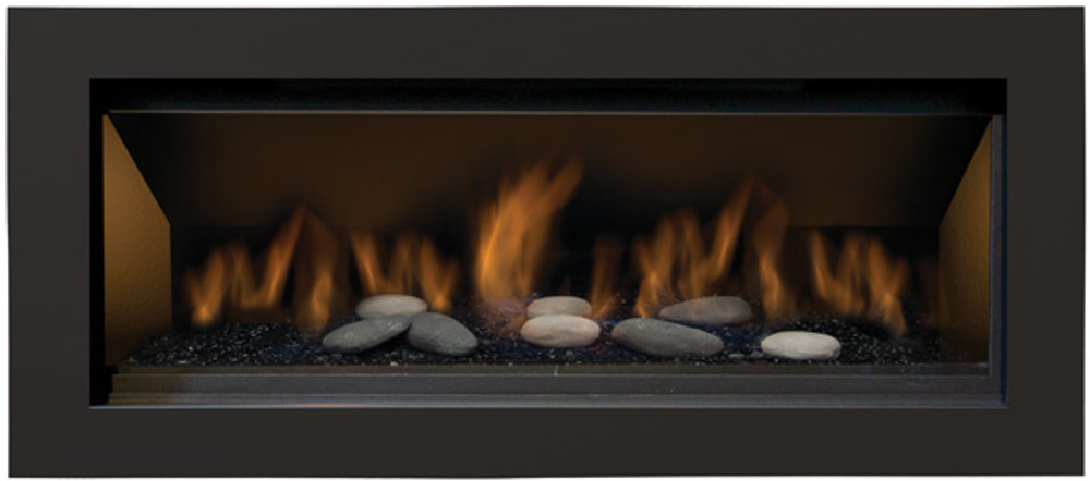 """Amantii Sierra Flame Stanford 55"""" Linear Gas Fireplace"""