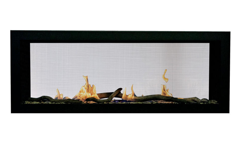 """Amantii Sierra Flame Emerson 48"""" Linear See-Through Gas Fireplace"""