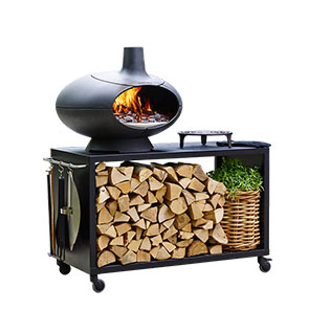 Morso Outdoor Forno Garden Set w/ Large Table & Grill