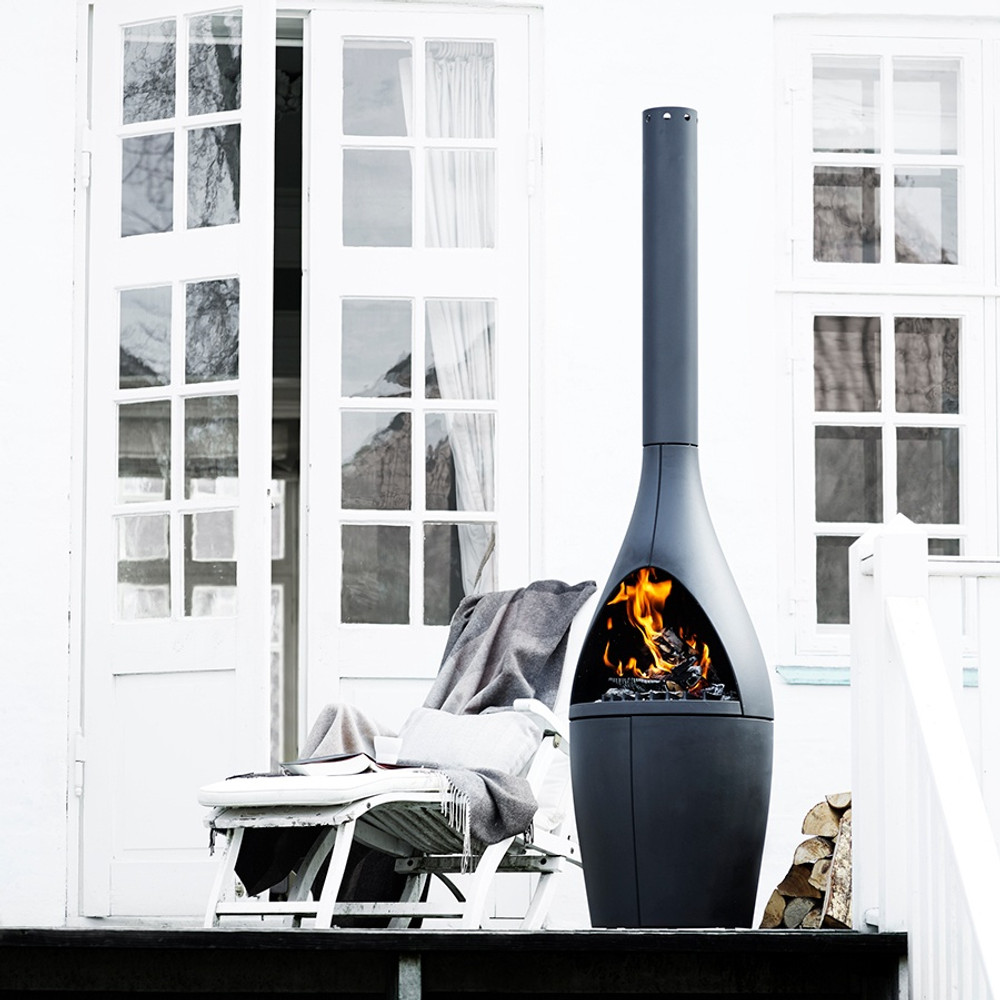 Morso Kamino Outdoor Wood Fireplace