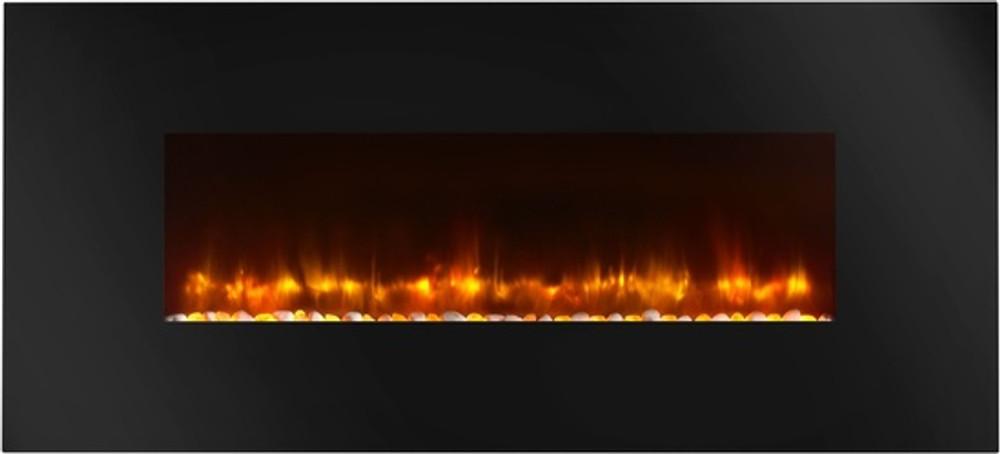 "SimpliFire 38"" Modern Wall-Hanging Electric Fireplace"
