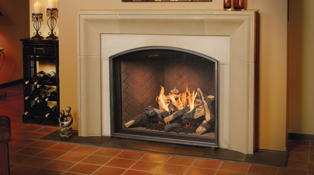 Town & Country TC36 Arched Traditional Gas Fireplace