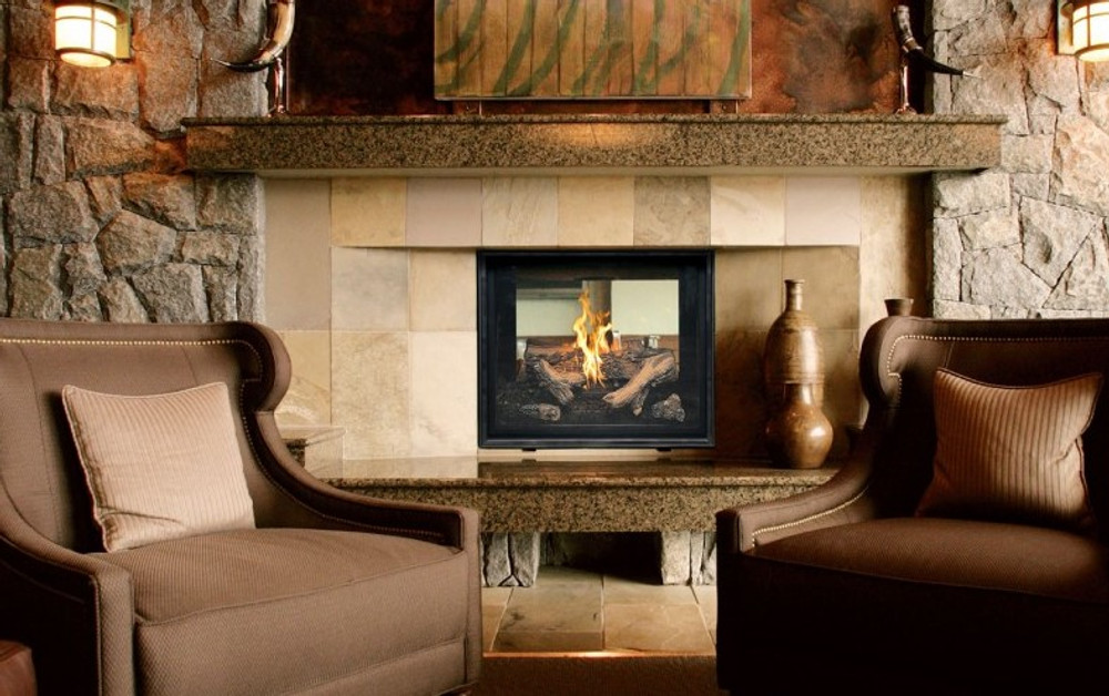 Town & Country TC36 See-Through Traditional Gas Fireplace