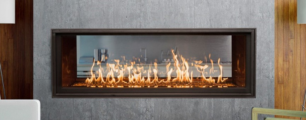 Town & Country WS54 See-Through Linear Gas Fireplace