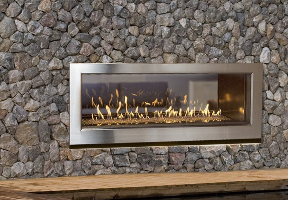 Town & Country WS54 Outdoor/See-Through Linear Gas Fireplace