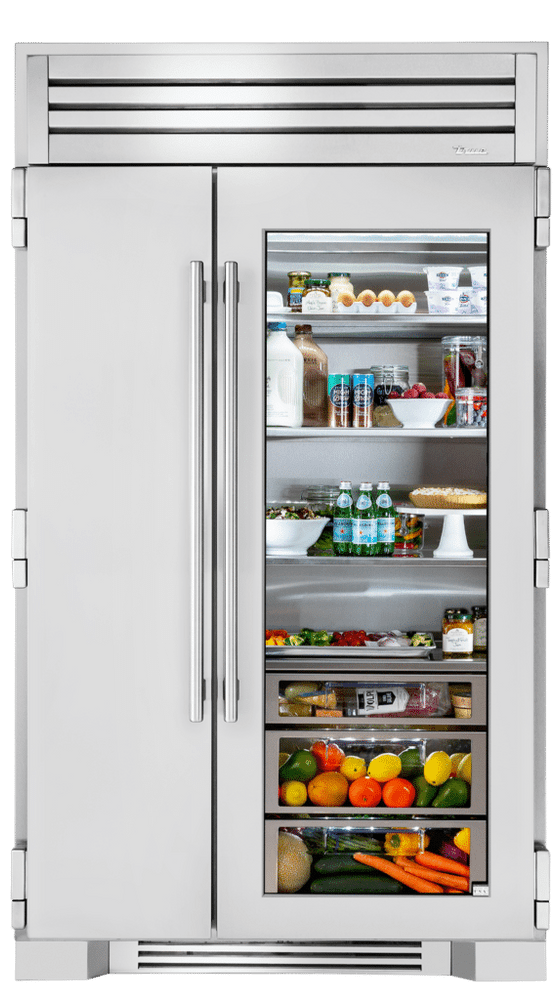 "True Residential 48"" Side By Side Refrigerator/Freezer"