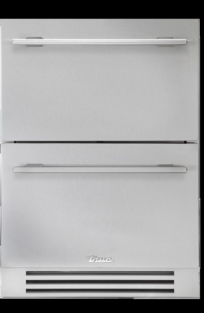 "True Residential 24"" Undercounter Refrigerator Drawers"