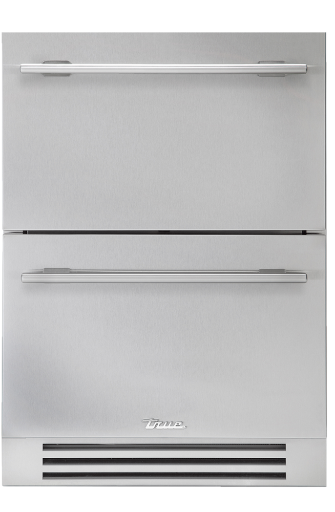 True Residential Undercounter Freezer Drawers