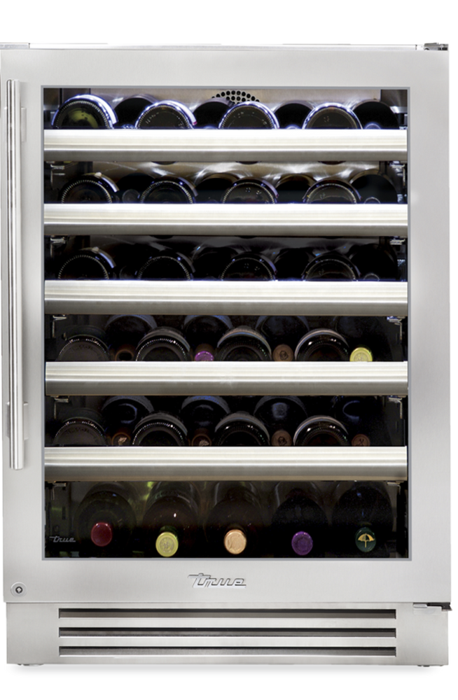 "True Residentail 24"" Single Zone Undercounter Wine Cabinet"