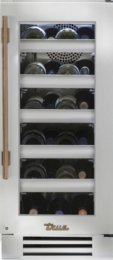 "True Residentail 15"" Single Zone Undercounter Wine Cabinet"