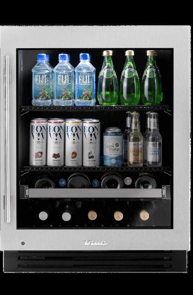 """True Residentail 24"""" ADA Height Undercounter Beverage Center"""