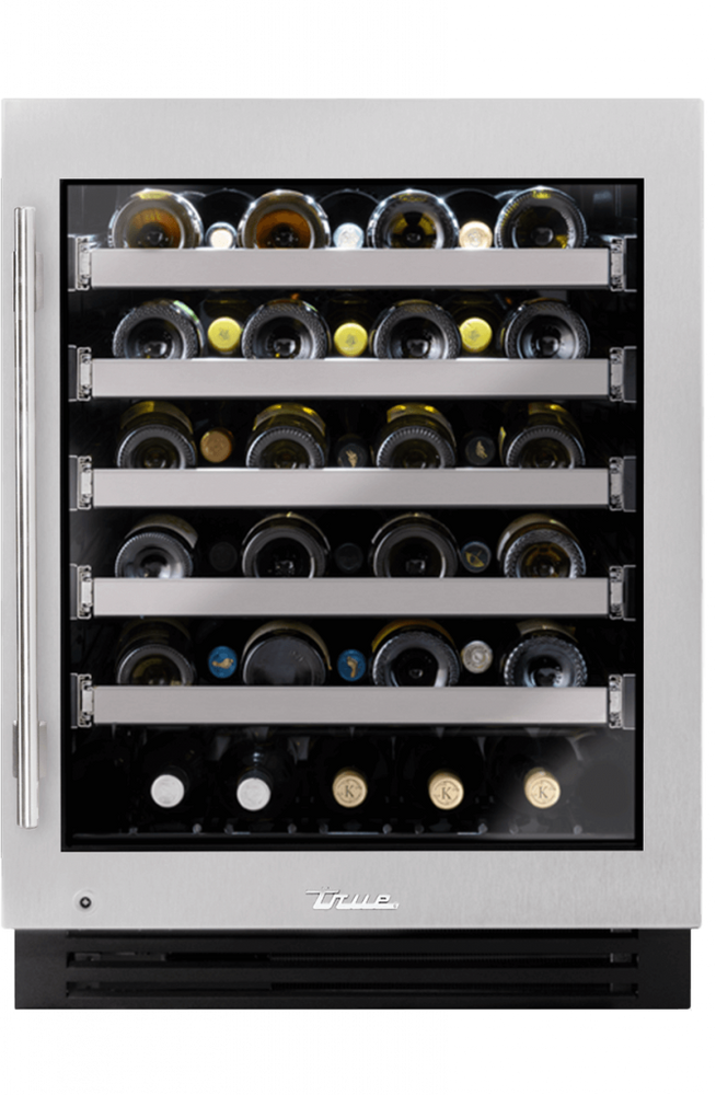 "True Residentail 24"" ADA Height Undercounter Wine Cabinet"