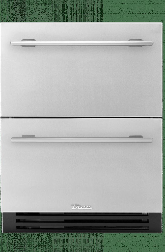 "True Residentail 24"" ADA Height Undercounter Refrigerator Drawers"