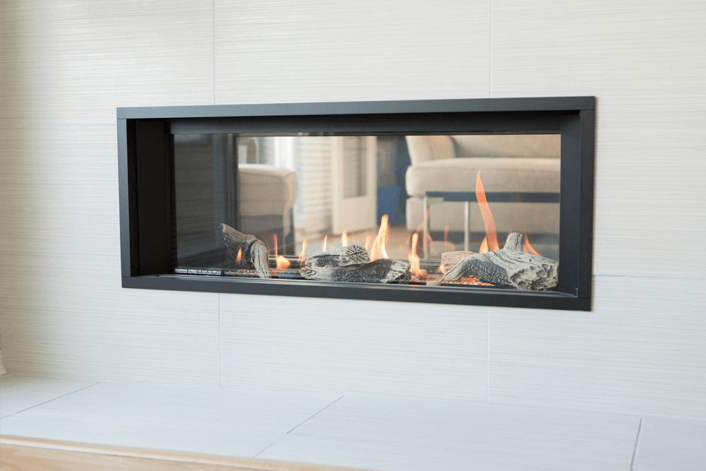Valor 1600 L1 See-Through Linear Gas Fireplace