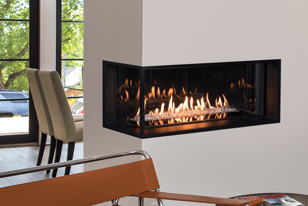 Valor 2200 LX2 Corner Gas Fireplace