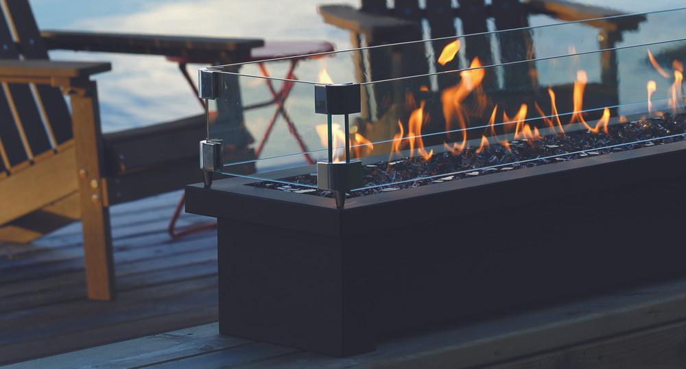 """Barbara Jean 48"""" Fire Stand w/ Linear Burner"""