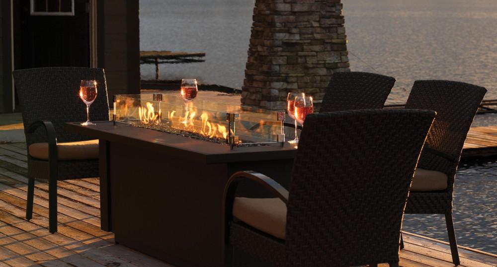 "Barbara Jean 24"" Outdoor Fire Table"