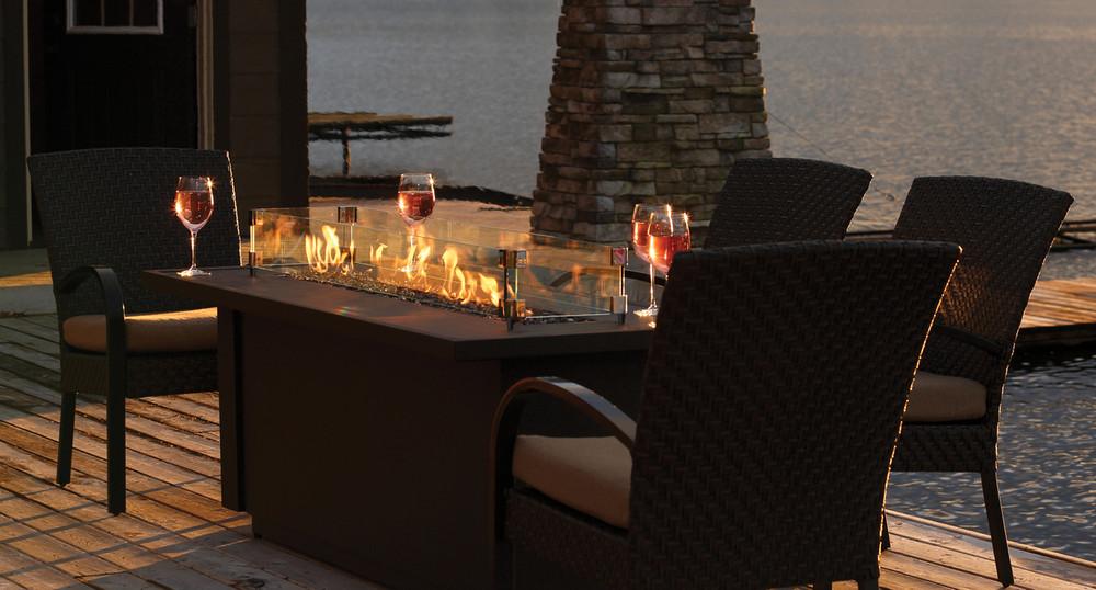 "Barbara Jean 48"" Outdoor Fire Table"