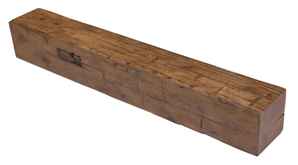 """MagraHearth 54"""" Small Mortise Post Concrete Mantels"""