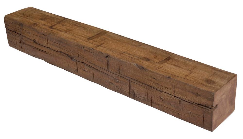 "MagraHearth 54"" Small Plain Post Concrete Mantels"