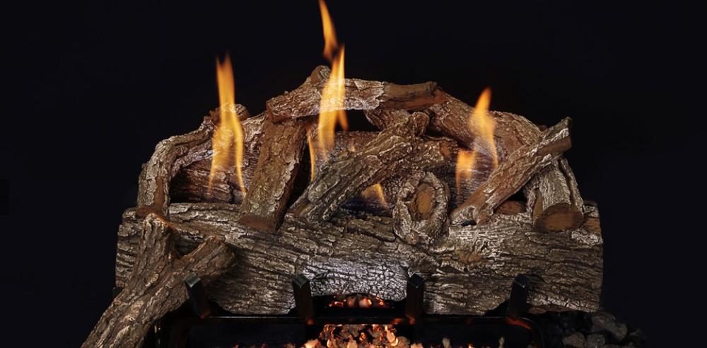 Grand Canyon Red Oak Vent Free Gas Log Set