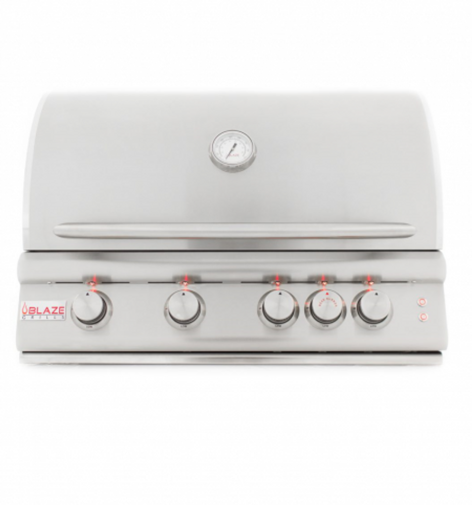 "Blaze 4 Burner LTE Grill Built-In Gas Grill with Lights (32"")"