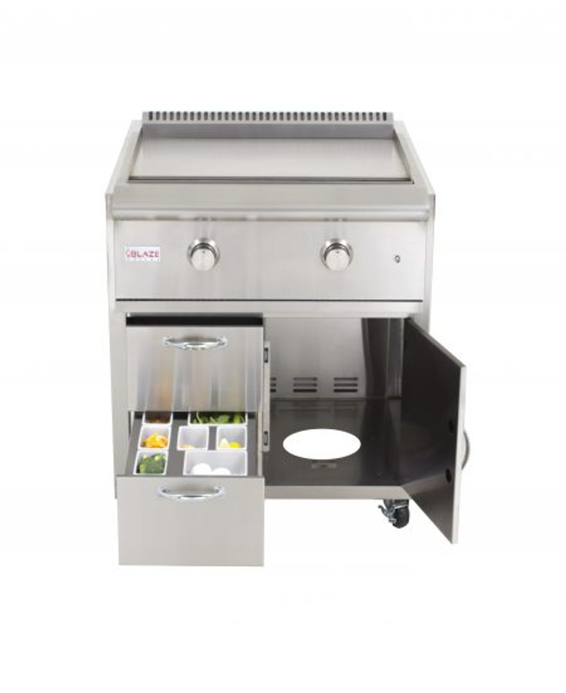 Blaze Grill Cart for Gas Griddle