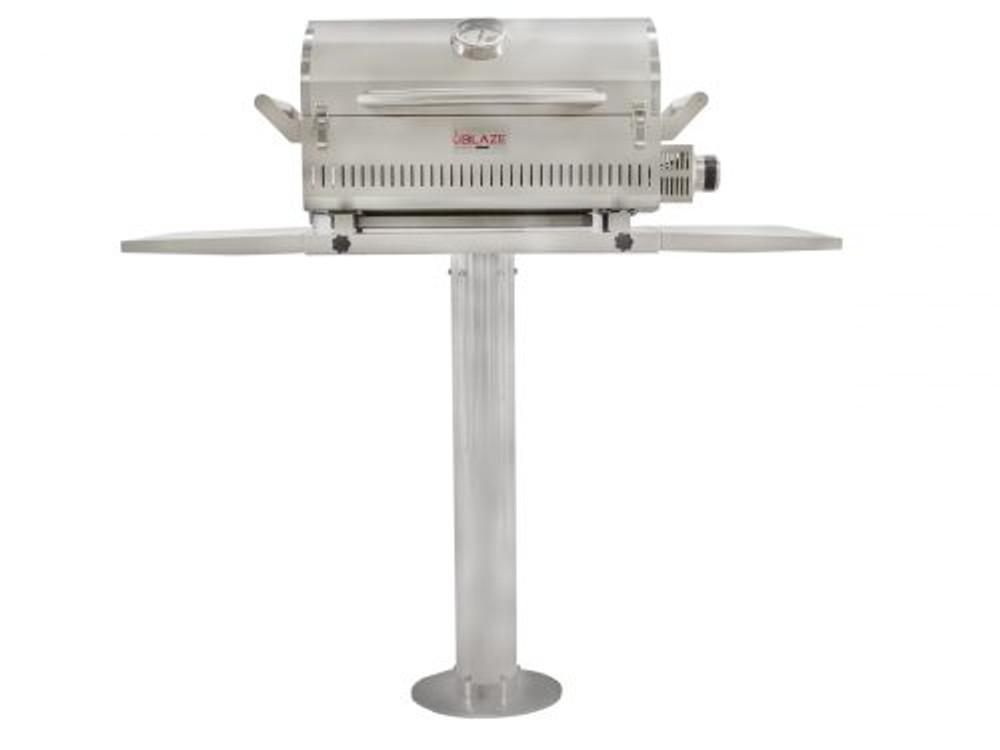"Blaze 10"" Pedestal for the Portable Marine Grade Grill"