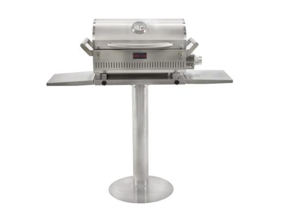 "Blaze Side Shelves for 17"" Pedestal for Portable Grill"