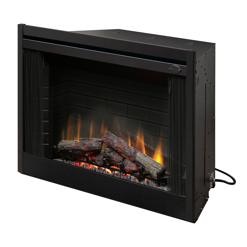 "Dimplex 45"" Deluxe Built-in Electric Fireplace"