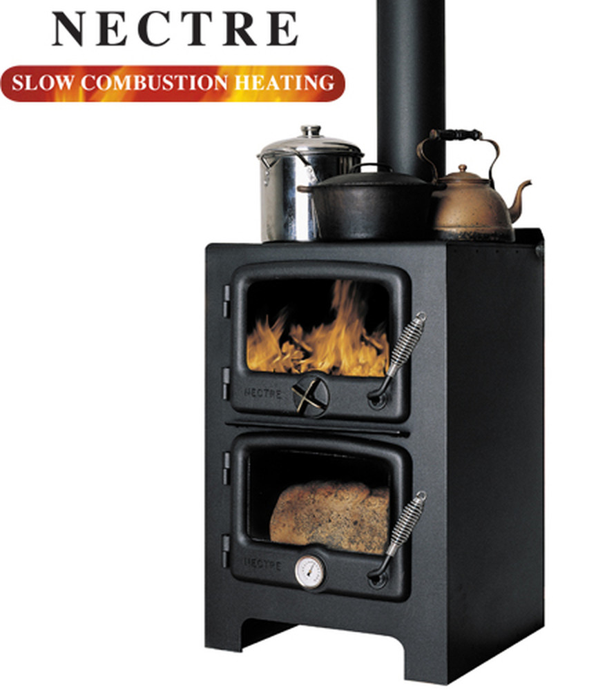 Nectre N350 Wood Stove/ Oven & Heater