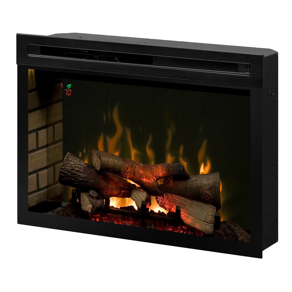"Dimplex 33"" Multi-Fire XD Electric Firebox w/ On Screen Display and Logset"