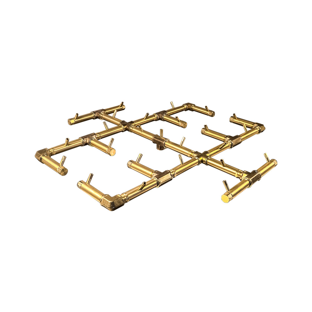 Warming Trends Original Crossfire Brass Burner- CFB300