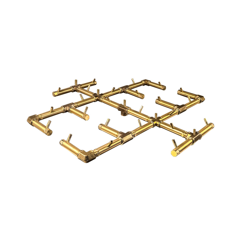 Warming Trends Original Crossfire Brass Burner- CFB350