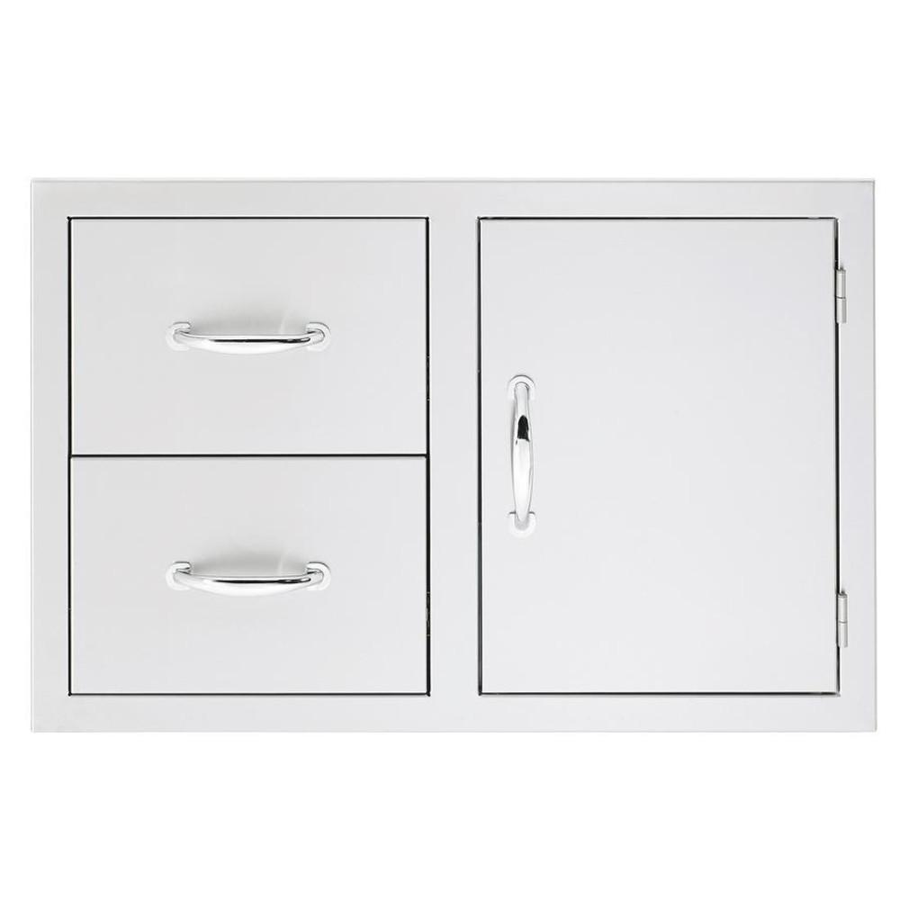 Summerset Masonry Door/ 2 Drawer Combo