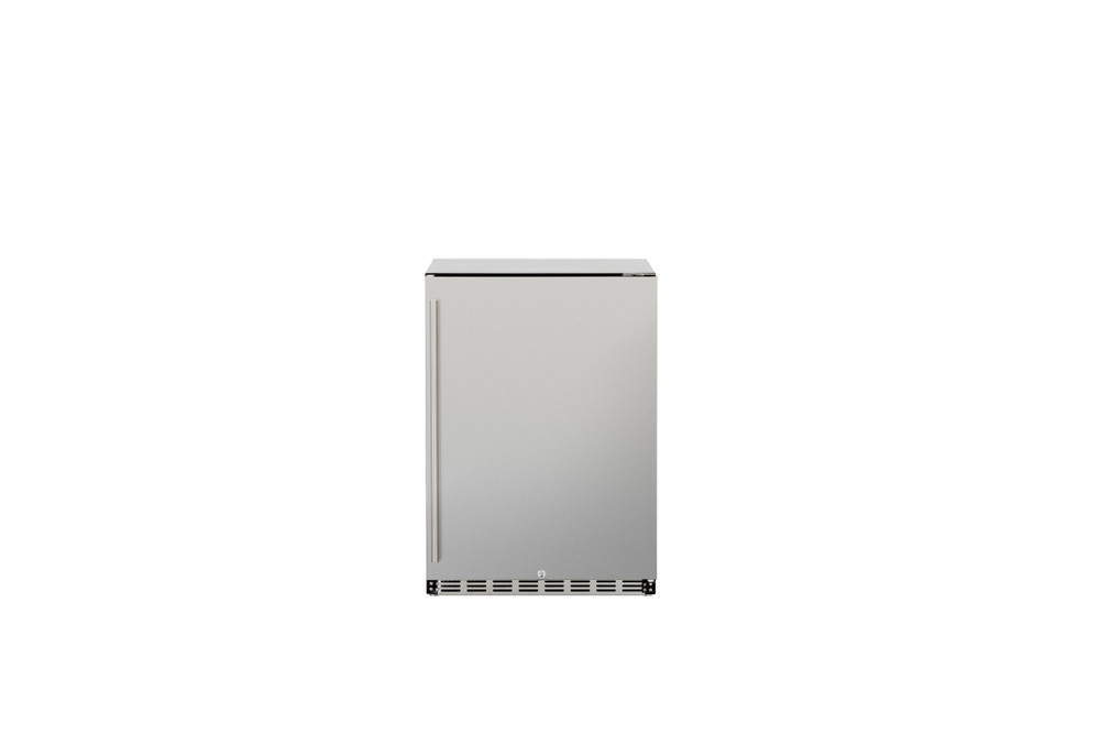 "Summerset 24"" 5.3c Deluxe Outdoor Rated Refrigerator (Right-to-Left Opening)"