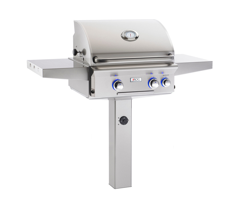 """AOG 24"""" L-Series In- Ground and Patio Post Mount"""