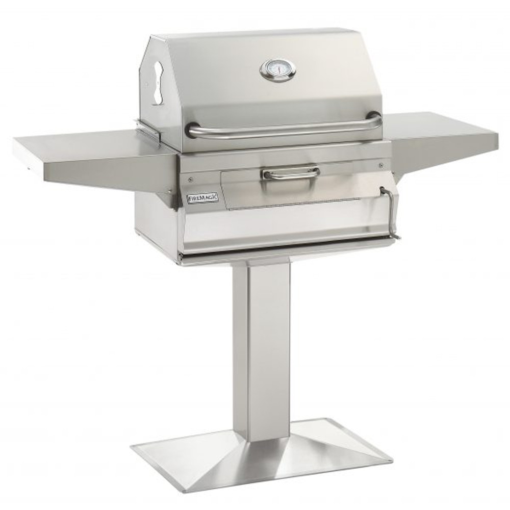 Fire Magic Post Mount charcoal Grill - 22-SC01C-P6