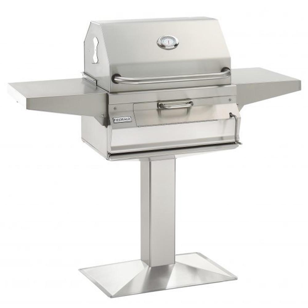Fire Magic Post Mount charcoal Grill - 22-SC01C-G6